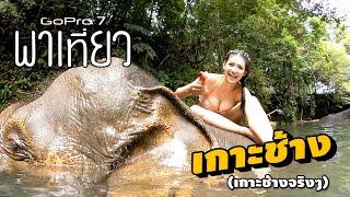 GoPro พาเที่ยว - อาบน้ำให้ช้างน้อย ที่เกาะช้าง