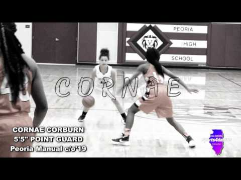 "[ Sports4daGirls ] Peoria Manual 5'5"" PG Cornae Corburn c/o'19"