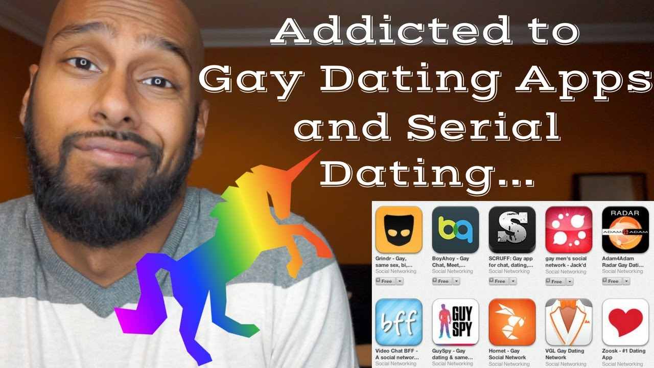 Dating apps gay man