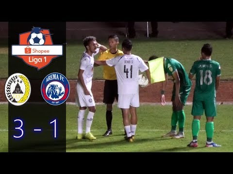 PSS Sleman Vs Arema FC (3-1) All Goal & Highlights Shopee Liga 1 Indonesia Live Stadion Maguwoharjo