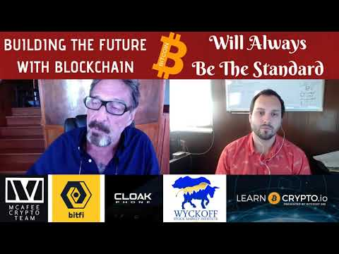 John McAfee Strikes Again! Bitfi Wallet - Cloak Phone - Privacy Coins Will Win the Day!