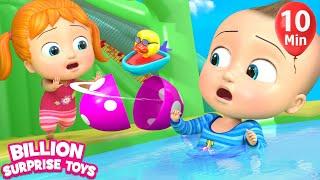 Download Surprise Eggs & Slides | + More Kids Songs | Billion Surprise Toys Mp3 and Videos