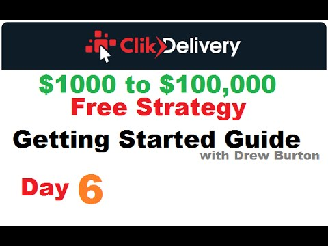 ClikDelivery strategy day 6 2016 Click Delivery Training with Drew Burton