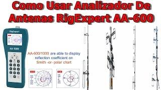 Як Використовувати Аналізатор Антен RigExpert AA-600✅| Добре Пояснив | Безкоштовно Full HD | [1080p 60Fps]