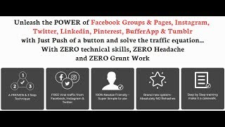 Social Auto Poster Demo | Highest traffic driving Machine = Facebook