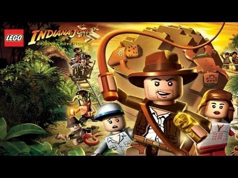 Lego Indiana Jones Walkthrough - Complete Game