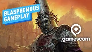 Blasphemous: 18 Minutes of Brutal Gameplay from Gamescom 2019