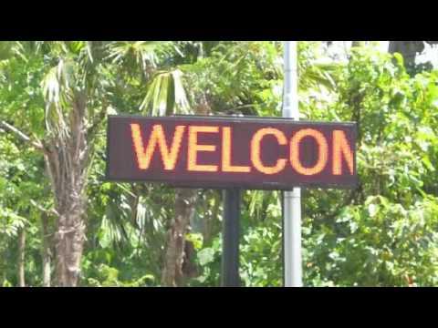 046)Bali・ウブドの散歩・parking área@モンキーフォレスト大駐車場
