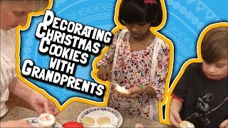 Decorating Christmas Cookies with Grandparents (December 8, 2017)