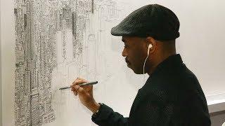 Британский художник-аутист по памяти нарисовал Нью-Йорк (новости)