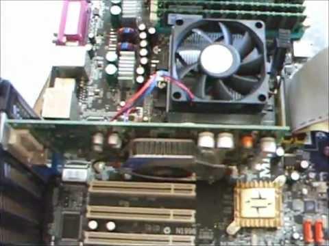 MSI K8N Neo Socket754 Junk Board info