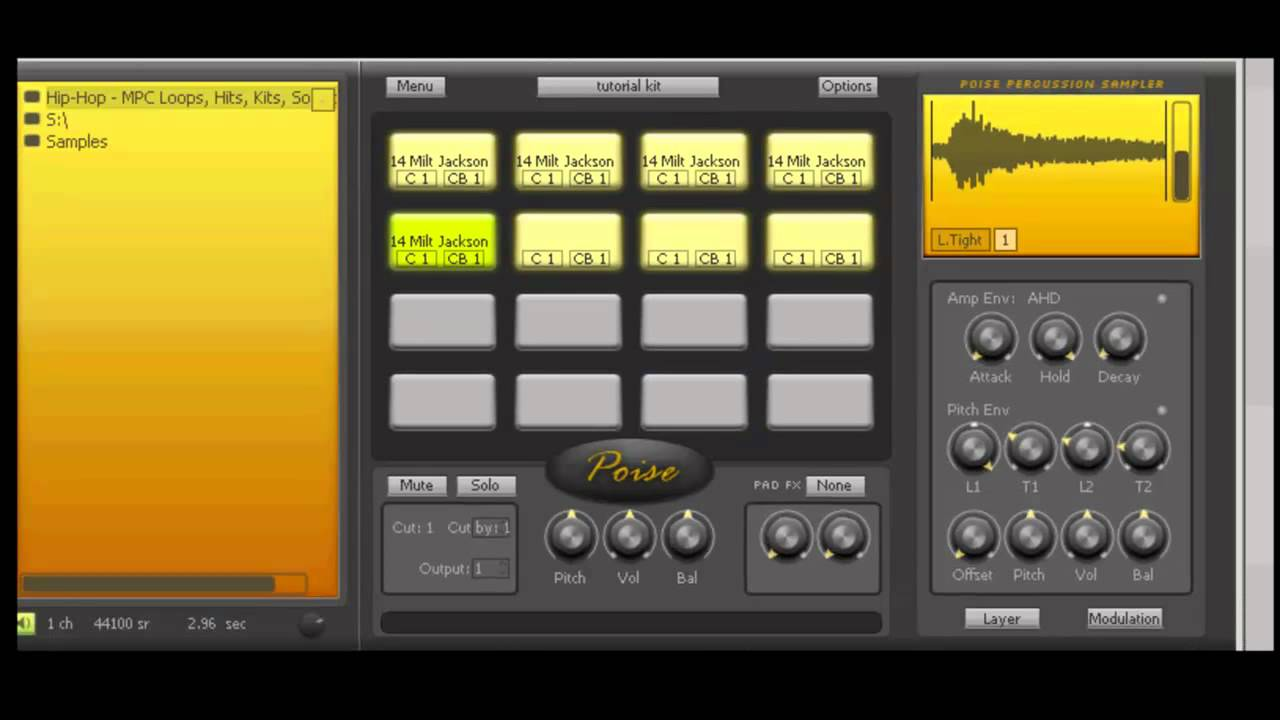 Poise VST tutorial Part 3 of 4 - Chopping a Soul Song in DAW, MIDI-mapping  Poise sample start