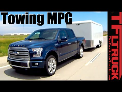 2016 Ford F 150 Limited 3 5l Ecoboost V6 Towing Mpg Review Youtube