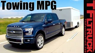 2016 Ford F-150 Limited 3.5L EcoBoost V6 Towing MPG Review