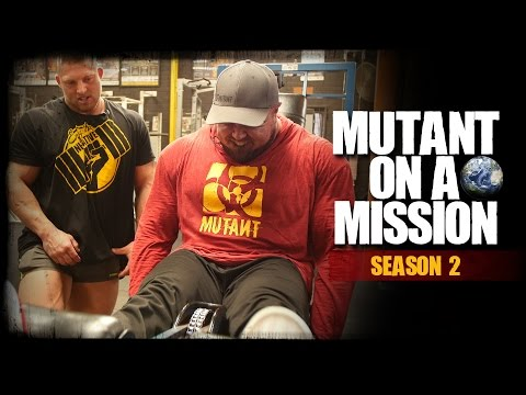 MUTANT ON A MISSION - Doherty's Gym, Melbourne, Australia