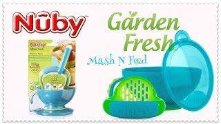 Набор для кормления Nuby Garden Fresh Mash