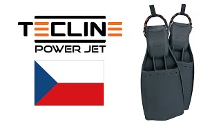 Technicke Ploutve Tecline PowerJet | Tecline Czech Republic