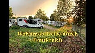 Mit dem Wohnmobil durch Frankreich: Nächste Etappe Wohnmobilstellplatz bei Moulins