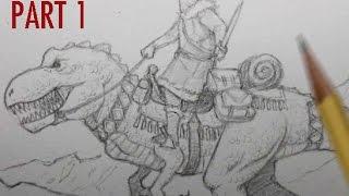 Making a Fantasy Illustration, PART 1: Pencils