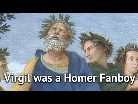 Virgil was a Homer Fanboy | History of Fanfiction 1