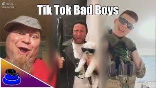 REACTING TO TIK TOK BAD BOYS CRINGE!