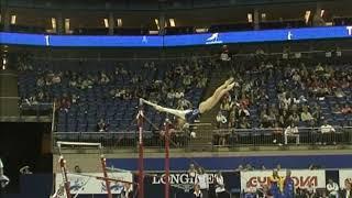 Anastasia Koval (UKR) Uneven Bars QF 2009 London World Championships