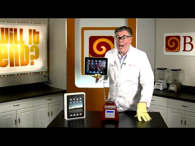 Will It Blend? - iPad