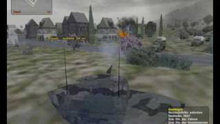 Operation Flashpoint: Cold War Crisis - gameplay 01 - Tank Battle (pc)