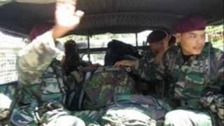 standing in the eyes of the world - ella theme song for malaysian paratroopers serve in Timor Leste