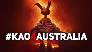 #kao4australia POMÓŻMY WRAZ Z KAO!