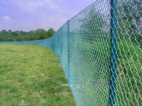 Забор из сетки рабица - Как выбрать?