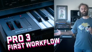 Pro 3 First Workflow Demo - Dave Smith Sequential