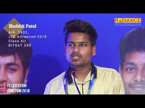 Shobhit Patel, AIR- 2902, JEE Advanced 2018
