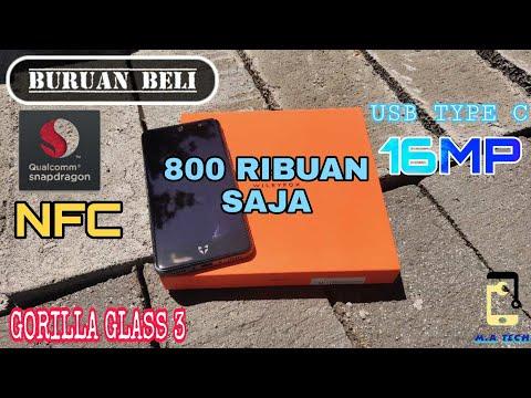 HAPE GILEE!! 😱😱 Cuma 800 Ribuan Komplit - NFC,16MP, Type C   Unboxing Wileyfox Swift 2 Plus