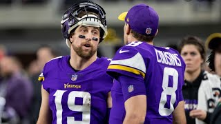 Vikings WR Adam Thielen voices HATE for INEPT QB Kirk cousins in 16-6 LOSS to Bears