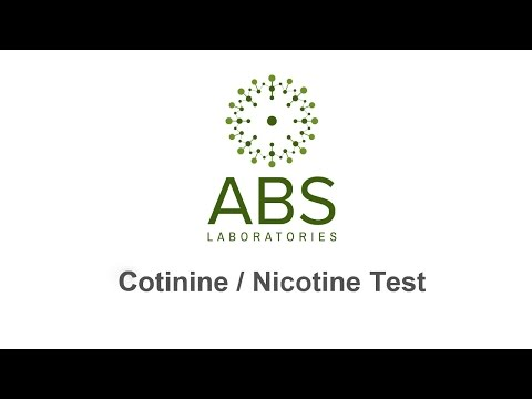 Nicotine cotinine saliva smoking test what you need to know