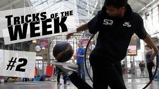 Football freestyle - Crazy Tricks of the Week #2 by Logan aka MOWGLI - @S3society