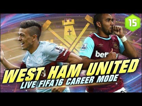 FIFA 16 | West Ham Career Mode Ep15 - A DEBUT GOAL!!