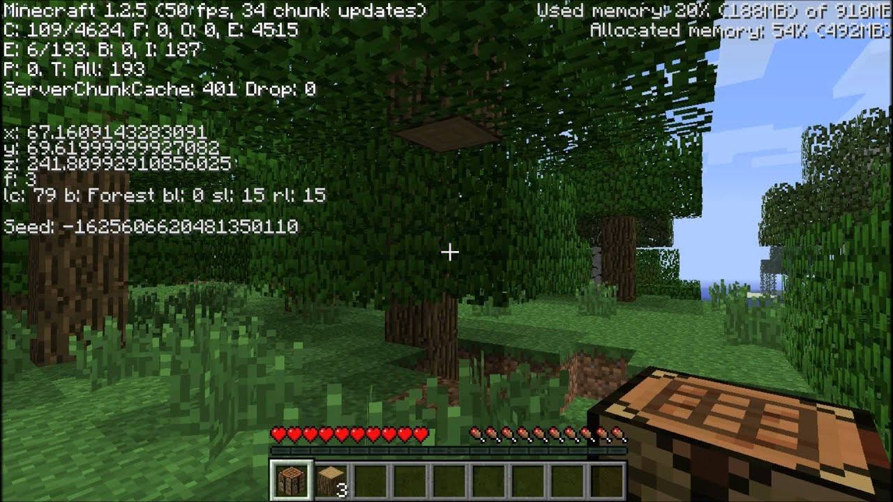 Minecraft Test On Hp Pavilion Dv6 Laptop Recorded With