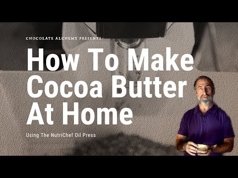 How To Make Cocoa Butter At Home