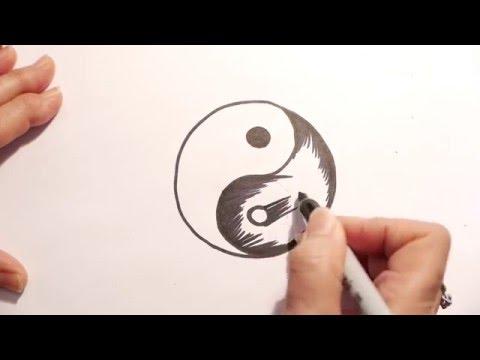 How to Draw a Yin Yang