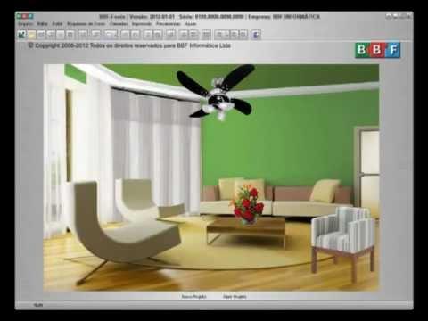 Simulador de ambientes bbf fenix v 2012 youtube for Simulador de ambientes 3d