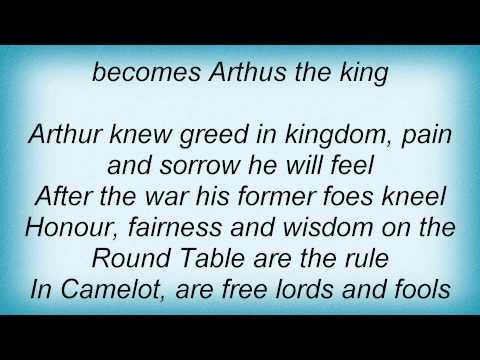 Dark Moor - The King's Sword Lyrics