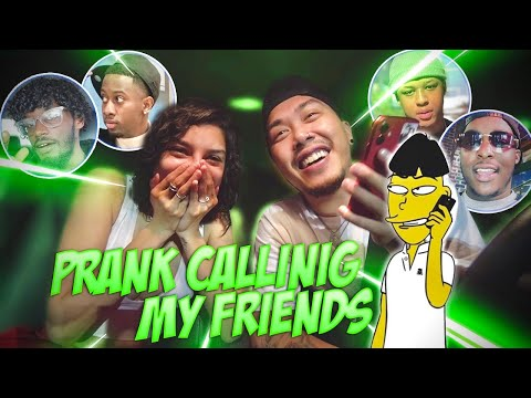 PRANK CALLING MY HOMIES WITH A VOICE CHANGER!