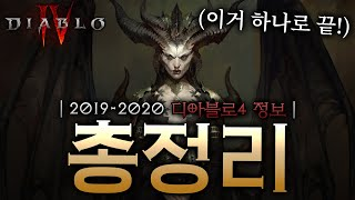 before BlizzCon 2021, All of Diablo 4 (KOR)