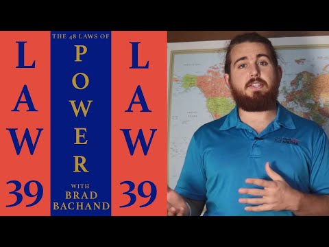 Stir Up Waters To Catch Fish | 48 LAWS OF POWER Robert Greene #39 Book Summary / Cliff's Notes