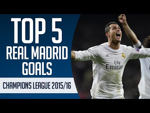 Top 5 Real Madrid goals   Champions League 2015 16 New Flash Game