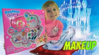Makeup. Детская косметика обзор. Мэйкап. Baby Care review & Makeup for children learning together