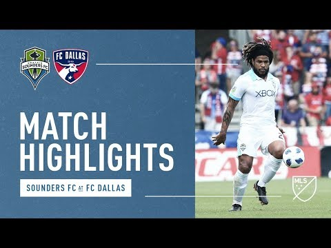 Highlights: Seattle Sounders FC at FC Dallas | March 18, 2018