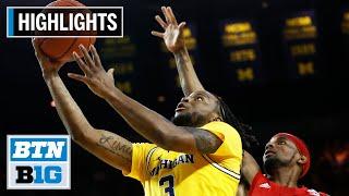 Highlights: Simpson Sent Off Right On Senior Night   Nebraska at Michigan   Mar. 5, 2020